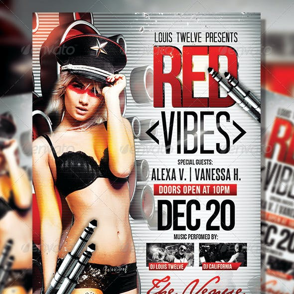 Red Vibes | Flyer Template