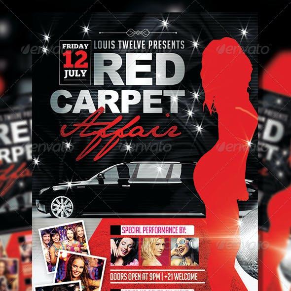 Red Carpet Affair 3 | Flyer Template