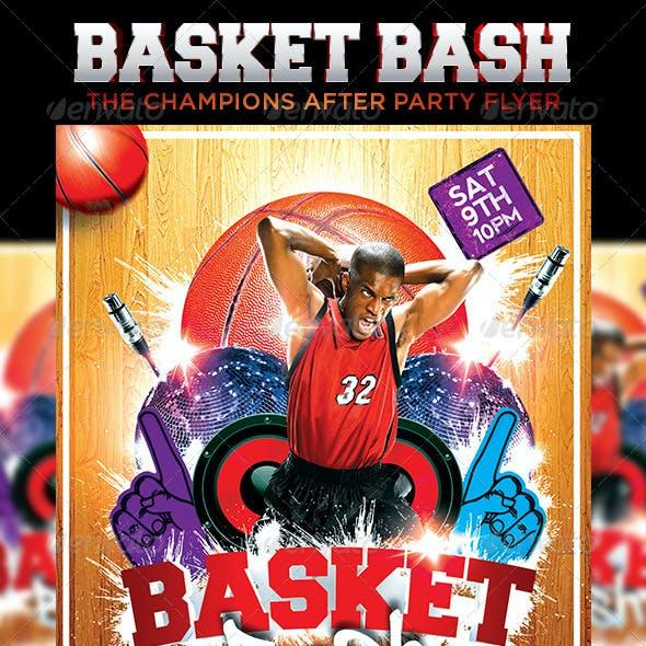 Basketball Bash Flyer