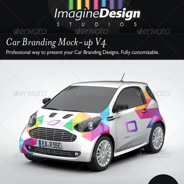 Car Branding Mock-Up V4