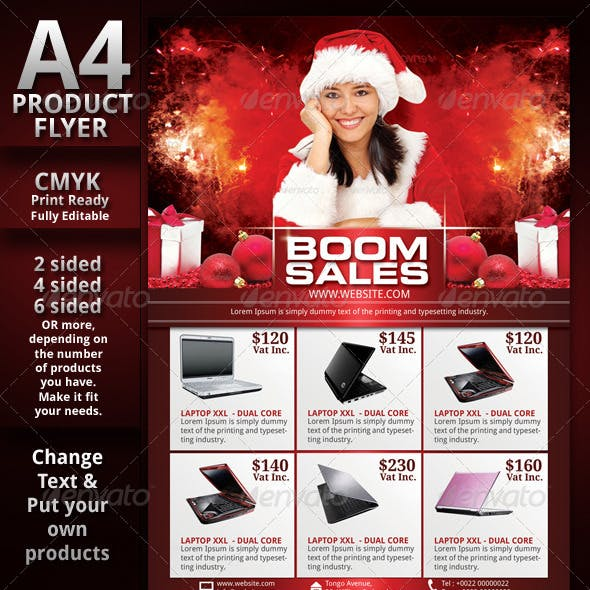 Christmas Sales Flyer
