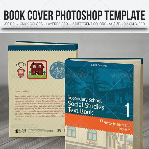 Textbook Cover Template