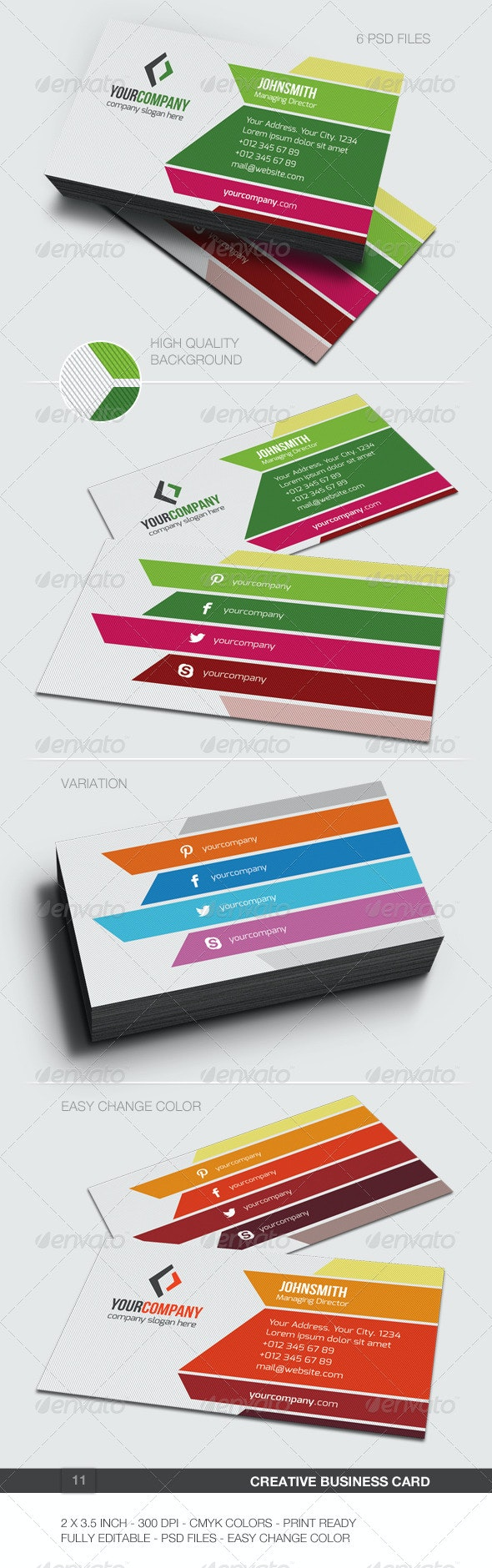 Creative Business Card - 11 - Creative Business Cards