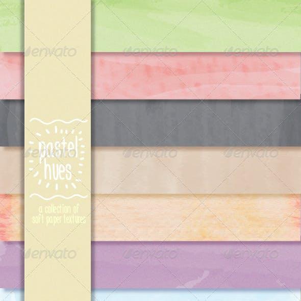 Pastel Hues: Soft Paper Textures
