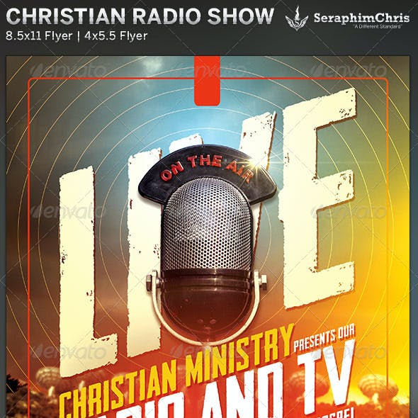 Christian Radio Ministry Flyer Template
