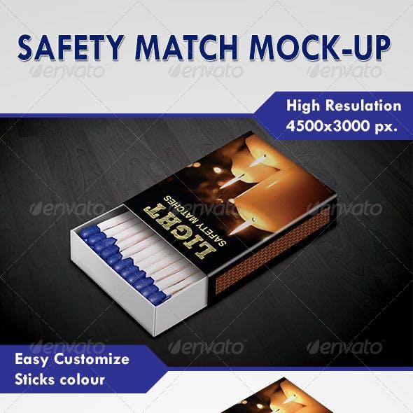 Safety Match Mock-Up