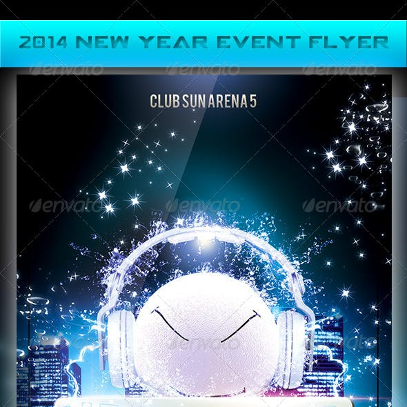 2014 New Year Event Flyer