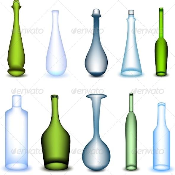 Colorful Bottles Set