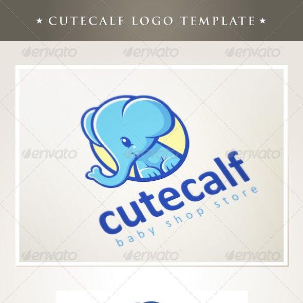 Cutecalf Logo Template