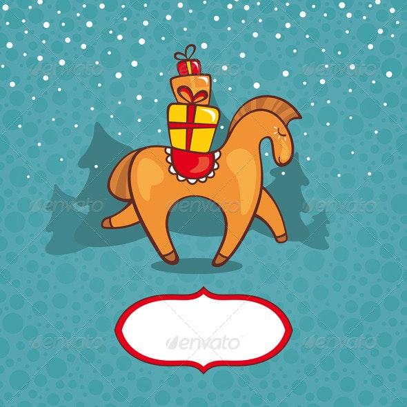 Happy New Year Greeting Card  - New Year Seasons/Holidays