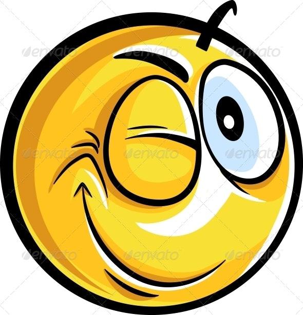 Winking Smiley - Miscellaneous Conceptual