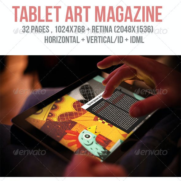 iPad & Tablet Art Magazine