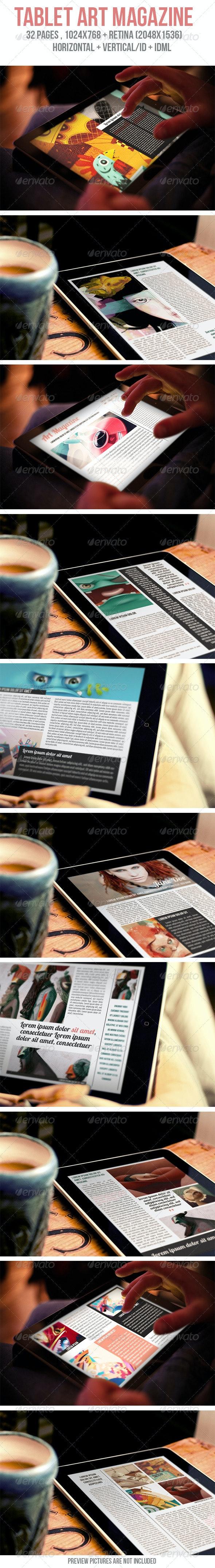 iPad & Tablet Art Magazine