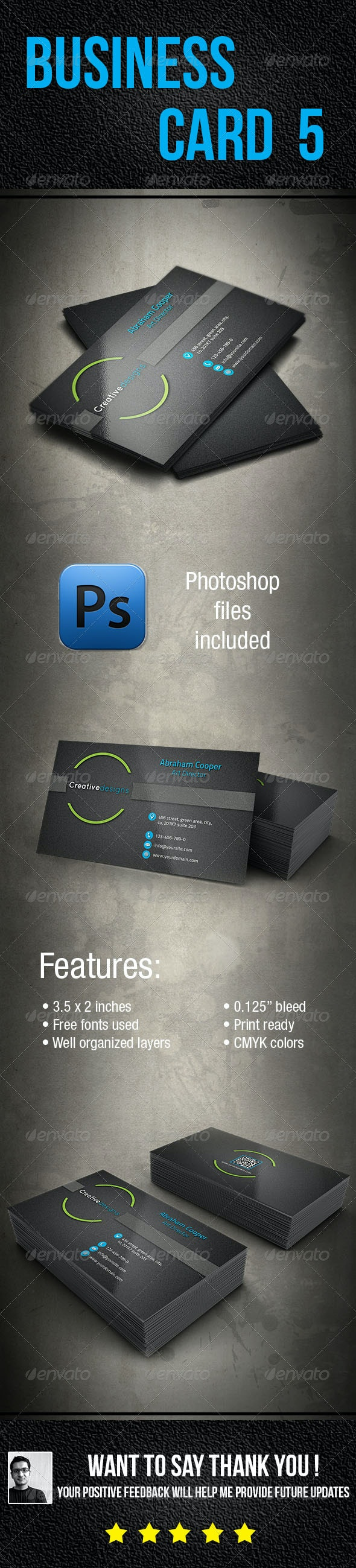 Business Card 5 - Creative Business Cards