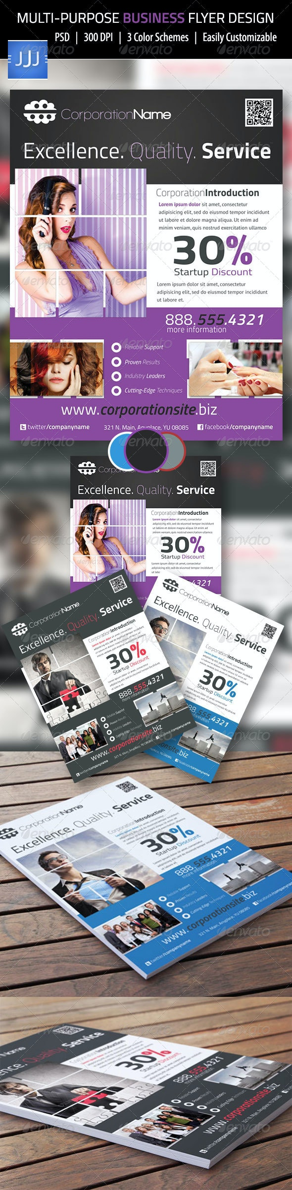 Multipurpose Business Flyer 16 - Corporate Flyers