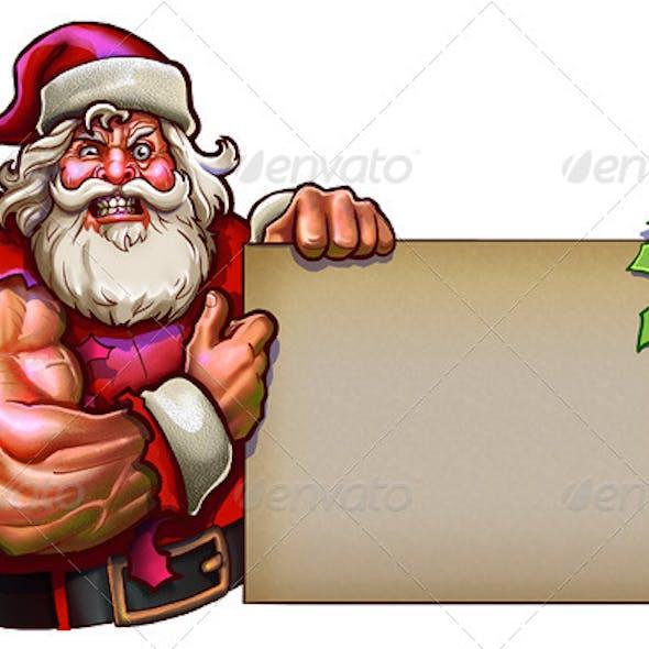 Santa Claus Muscle