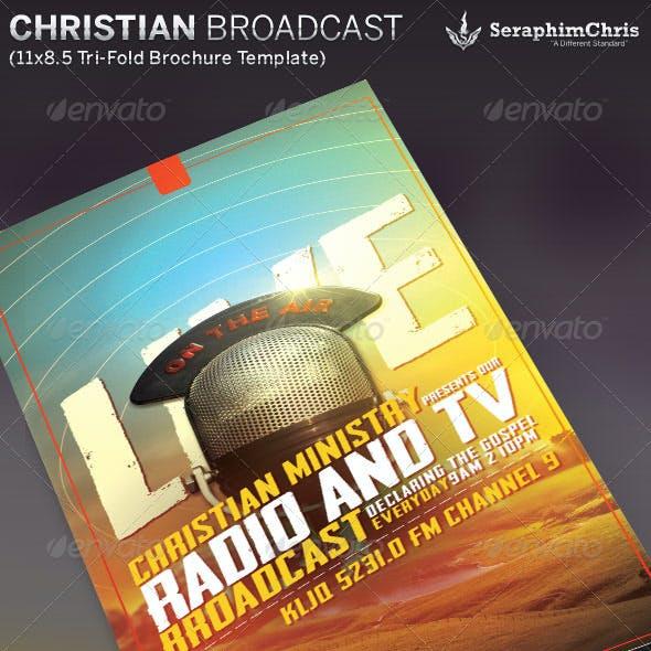 Christian Radio Ministry Brochure Template