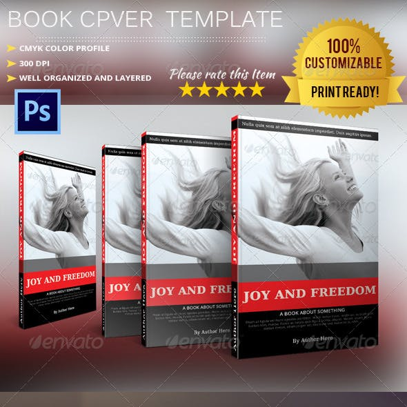 Book Cover Template Vol.7