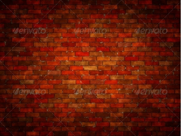 Brick Wall Background - 3D Backgrounds