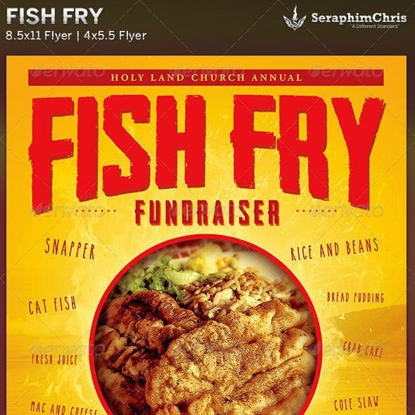 Fish Fry: Event Flyer Template