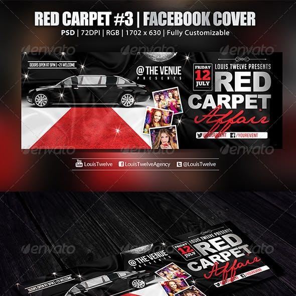 Red Carpet #3 | Facebook Cover