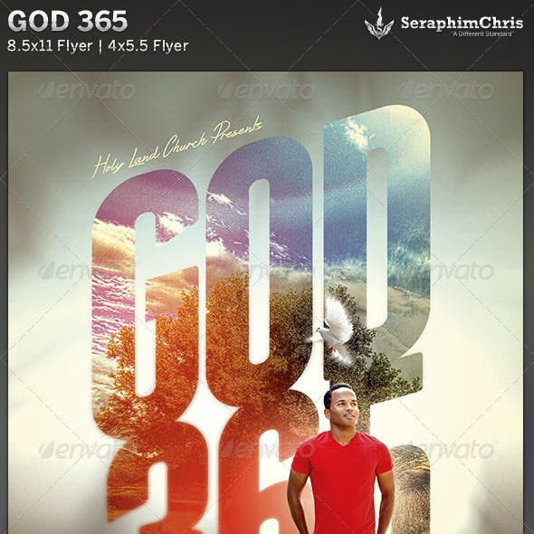 God 365: Church Flyer Template