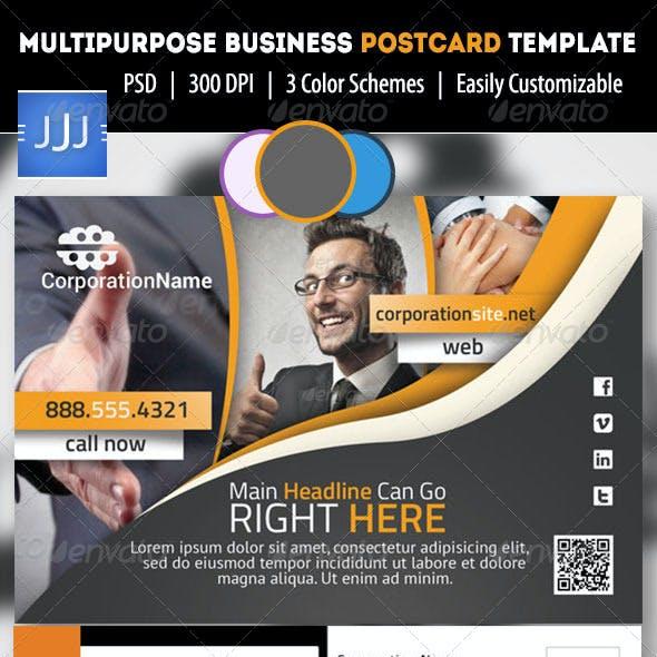 Multipurpose Business Postcard/Flyer 5