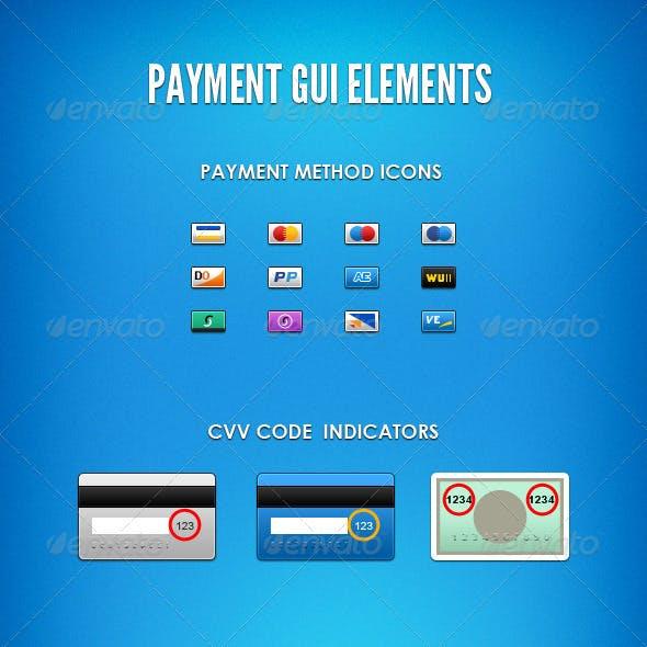 Payment GUI Elements