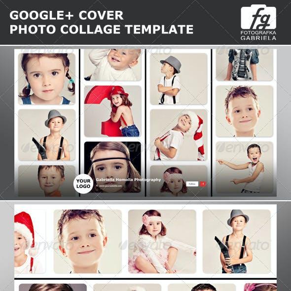 Google+ Photo Collage Photoshop Template