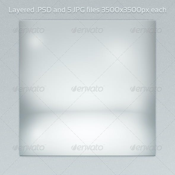 White Room PSD Backdrop