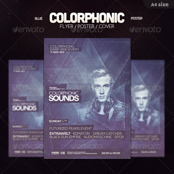 Blue Colorphonic Flyer