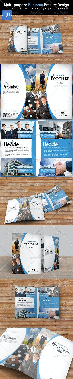Multipurpose Business Bifold Brochure 11 - Corporate Brochures