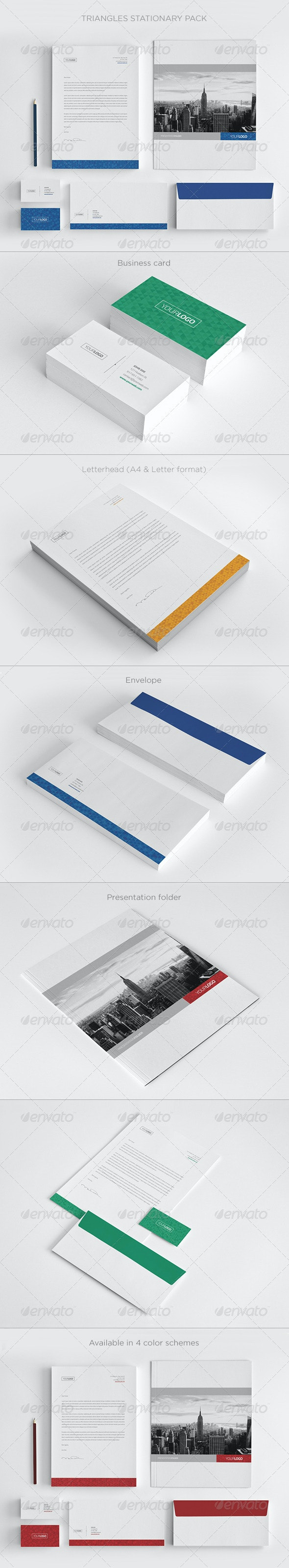 Real Estate Stationary Pack - Stationery Print Templates