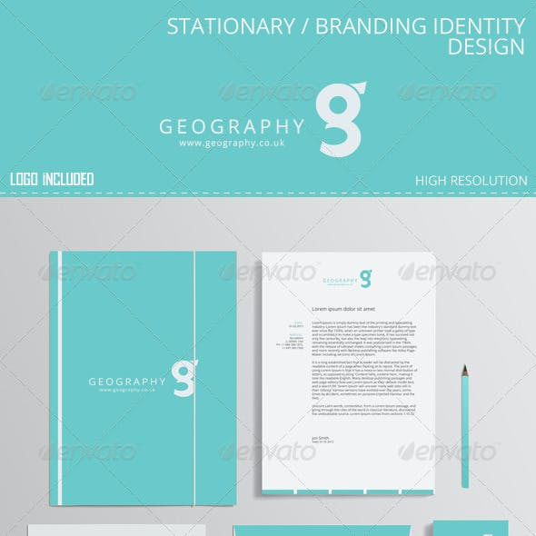 Stationary Branding identity design