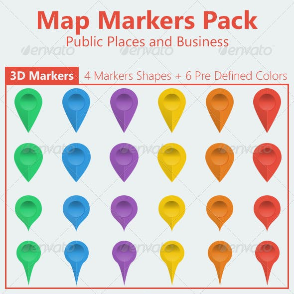 Ultimate Map Markers Pack