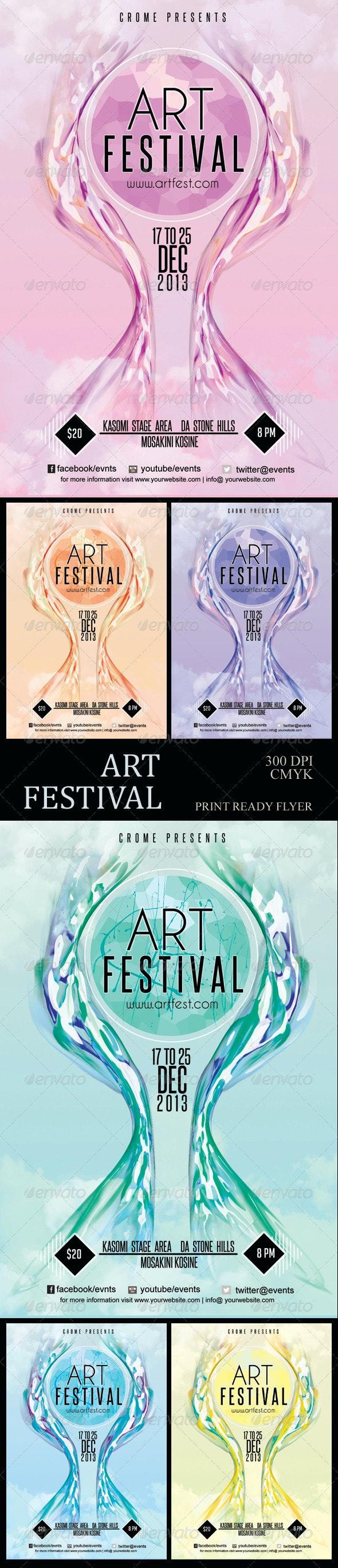 Art Festival Flyer - Miscellaneous Events