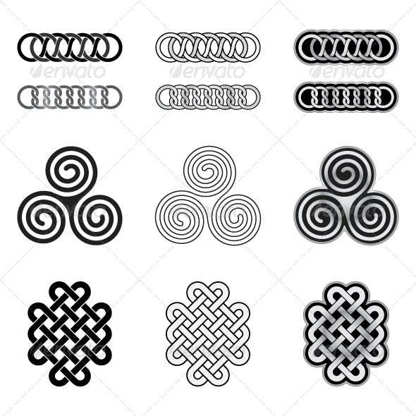 Celtic Knots Models and Patterns