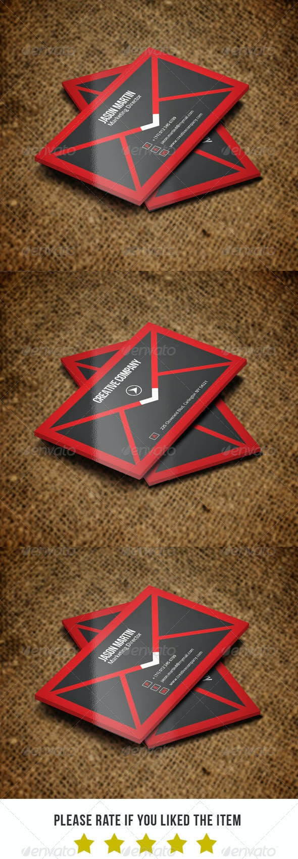 Marketing Business card v37 - Real Objects Business Cards