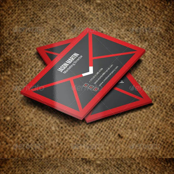 Marketing Business card v37