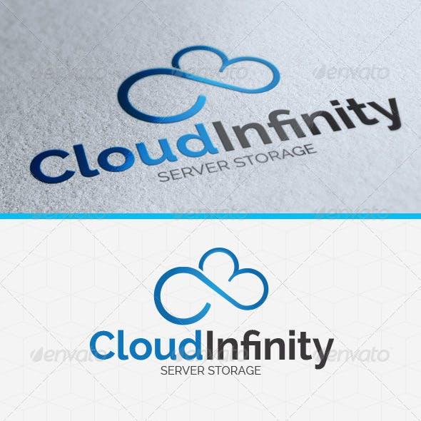 Cloud Infinity Logo Template