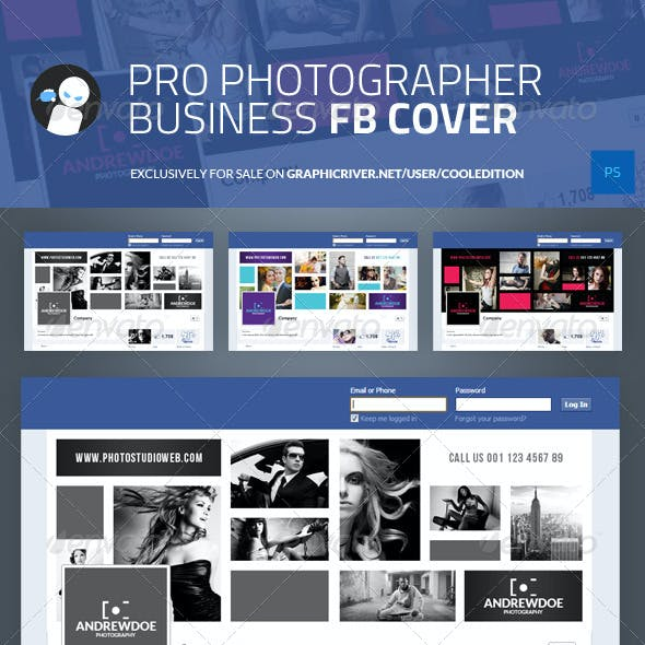 Pro Photographer Business Facebook Cover