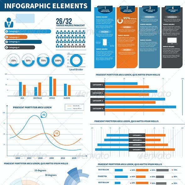 Infographic Elements - Statistics
