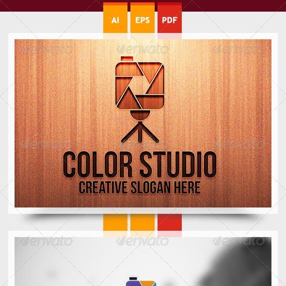 Color Studio Logo Template