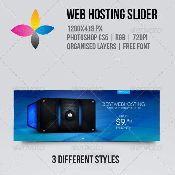Web Hosting Slider