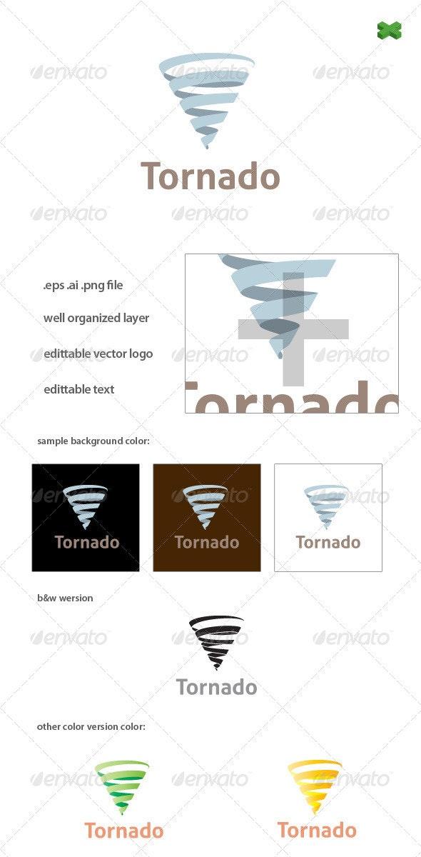 Tornado Logo Template.  - Nature Logo Templates