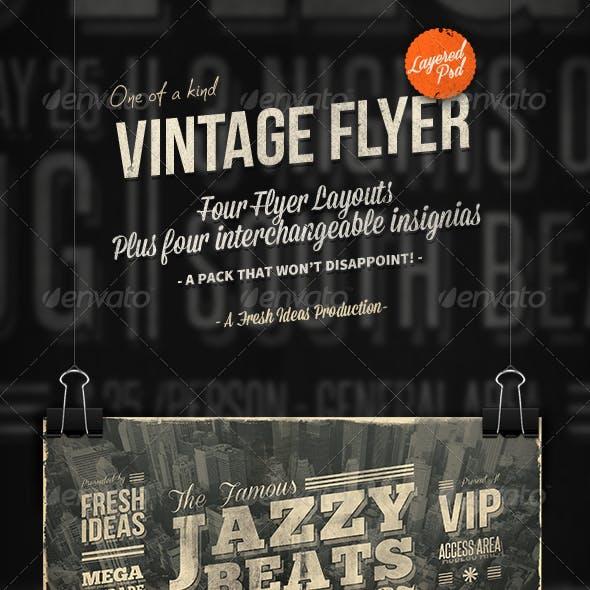The Vintage Set: Flyers / Insignias vol.2