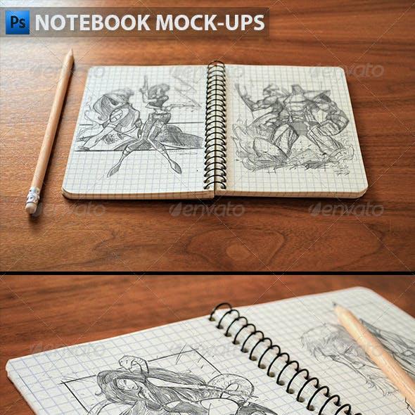 Notebook Mock-Ups