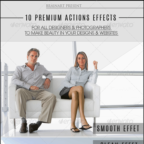 10 Premium Actions Photoshop Effects V3