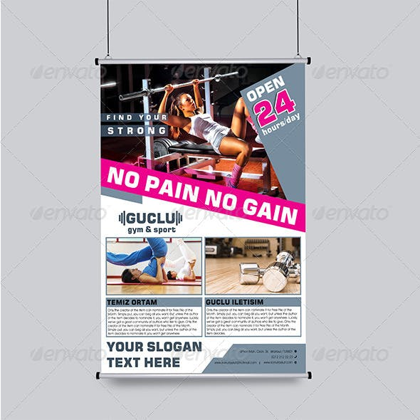 Gym&Sport Flyer Template