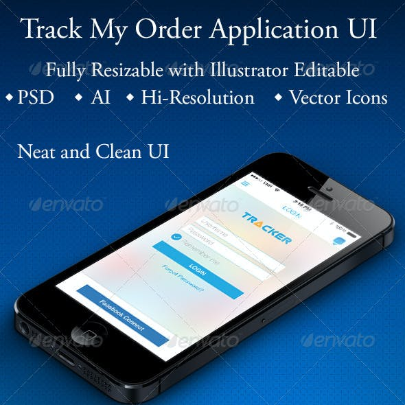 Track My Order Application
